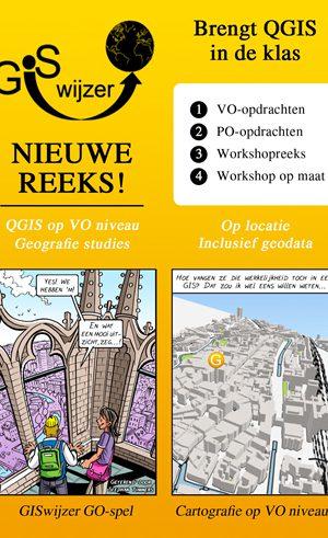 Nieuwe Reeks GISwijzer uitgaves