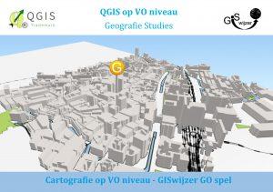 Voorkant boekje Cartografie GISwijzer GO spel