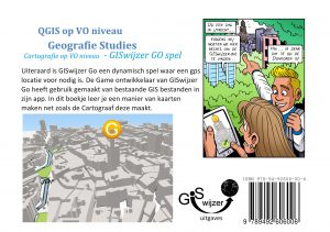Achterkant boekje Cartografie GISwijzer GO spel